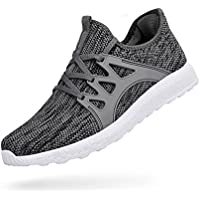 Troadlop Womens Fashion Sneakers Ultra Lightweight Knitted Running Shoes Athletic Casual Walking