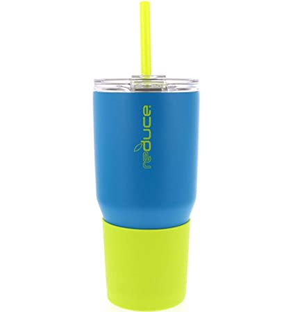 46415c622b7 REDUCE COLD-1 Tumbler - 34oz Stainless Steel Insulated Tumbler With Straw &  Lid - Reduce Insulated Tumbler Keeps Drinks Hot & Cold - A Perfect Water &  ...