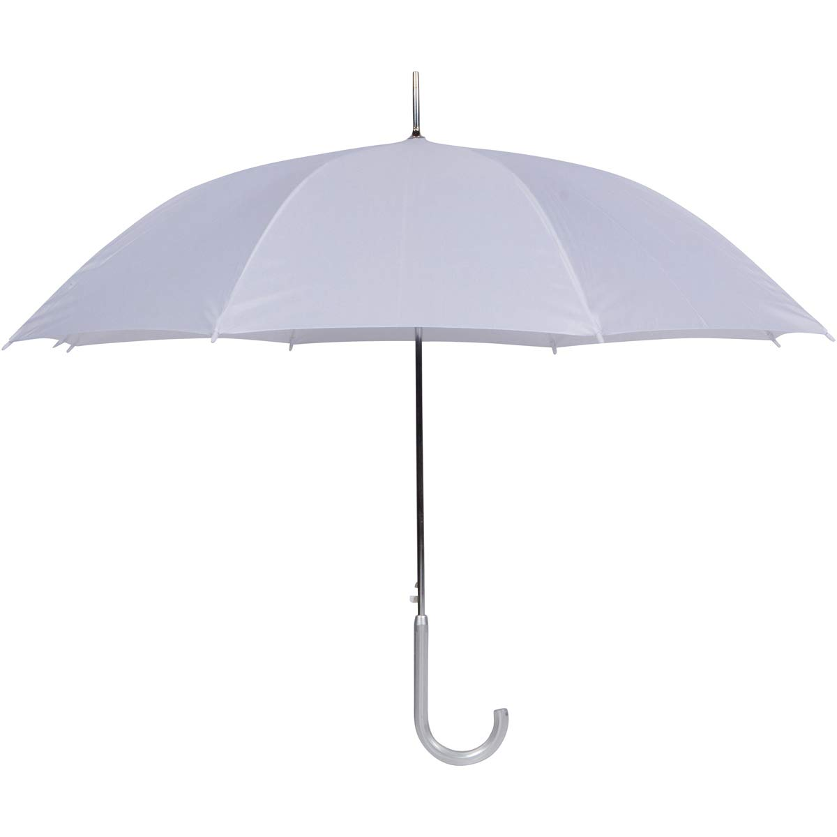 Cloak 10pk Auto Open White Wedding Umbrellas