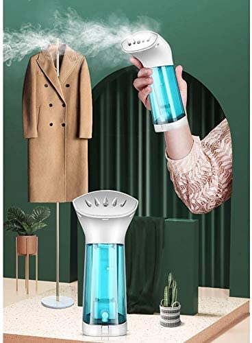 Linannau Steamer Clothing, Handheld Clothes Steamer Vertical and Horizontal Ironing Wrinkle Remover Home Use Soften Sanitize Portable Garment Steamer Machine