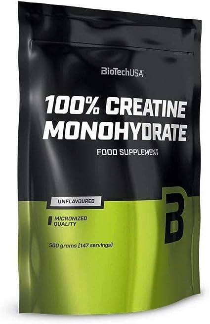 Biotech USA 100% Monohydrate Creatina - Monohidrato de creatina en ...