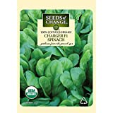 Seeds of Change Certified Organic Seed, Charger F1 Spinach