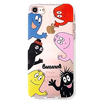 Amazon Little Merry Iphone7 Iphone8 対応 バーバパパ Barbapapa