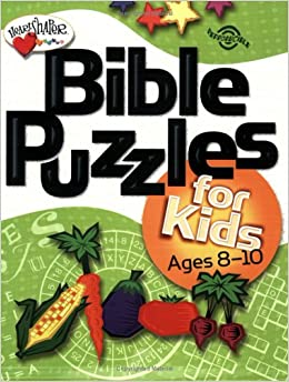 Bible Puzzles for Kids: Ages 8-10 (Heartshaper)