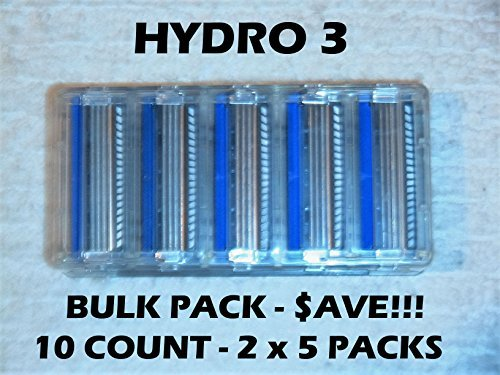 Schick Hydro 3 - 10 Count Bulk Pack