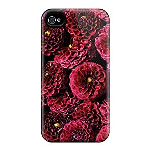 Hot Style DAc2029IeIn Protective Cases Covers For Iphone6(purple Dahlias)