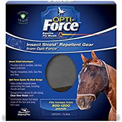 Manna Pro Insect Shield Opti-Force Fly Mask Standard