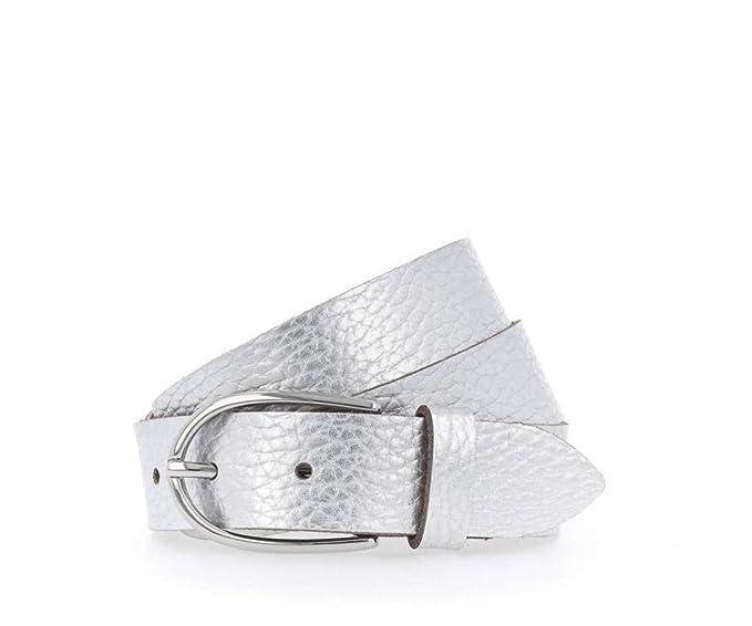 venduto in tutto il mondo prezzo accessibile aspetto dettagliato Vanzetti - Cintura da donna metallica, 3 cm argento 80: Amazon.it ...