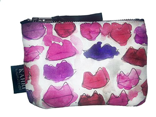 Messy Lips Coin Purse