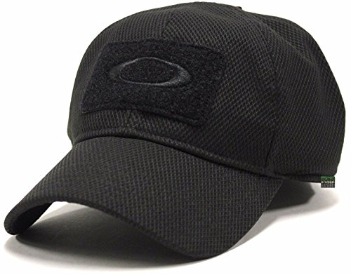 Oakley Men's SI Standard Issue Special Forces Tactical Fitted Hat Cap - Black - Oakley Specials