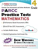 Common Core Assessments and Online Workbooks: Grade 4 Mathematics, PARCC Edition: Common Core State Standards Aligned by Learning Lumos (2014-01-02) Paperback