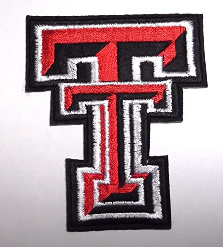(Texas Tech Iron On College University Football Patch)