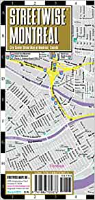 Montreal Subway Map With Streets.Streetwise Montreal Map Laminated City Center Street Map Of Montreal Canada Folding Pocket Size Travel Map With Metro Map Streetwise Maps 9781886705876 Amazon Com Books