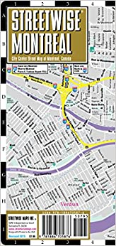 Streetwise montreal map laminated city center street map of streetwise montreal map laminated city center street map of montreal canada folding pocket size travel map with metro map folded map sciox Image collections