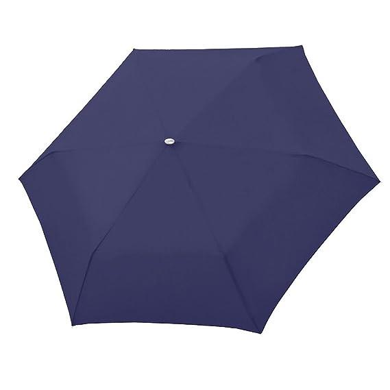 Paraguas plegable Doppler 5 años de garantía carbonsteel slim rojo: Amazon.es: Equipaje