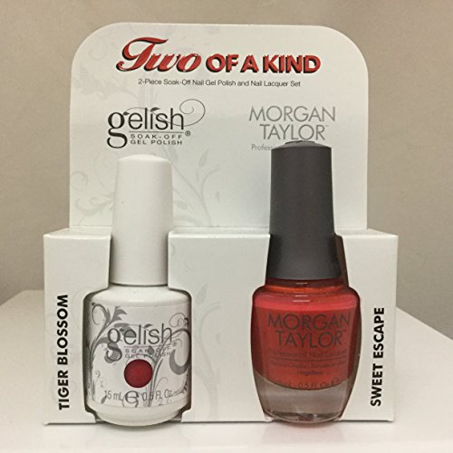 Gelish Core Duo Tiger Blossom and Sweet Escape Nail Polish