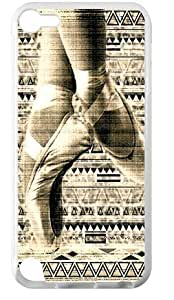 Hoomin Retro Ballet Aztec Design Dancing Ipod Touch 5 Cell Phone Cases Cover Popular Gifts(Laster Technology)