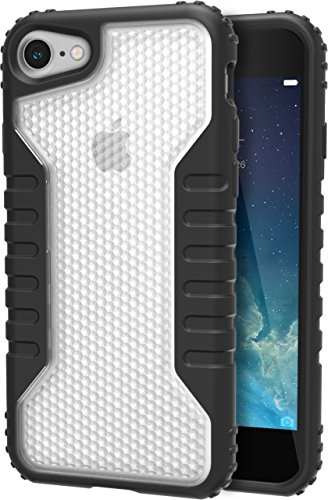 Price comparison product image Silk iPhone 7 Tough Case - Silk Armor iPhone 7 [Rugged Grip] Includes 2 Glass Screen Protectors - Clear