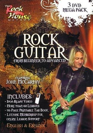 Rock Guitar Mega Pack [DVD] by John McCarthy: Amazon.es: Cine y Series TV