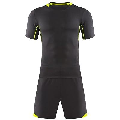 KINDOYO Men & Boys Football Shirt, Football Training Tracksuit,Soccer Jerseys