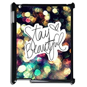 Ipad 2,3,4 2D Custom Phone Back Case with Stay Strong Image