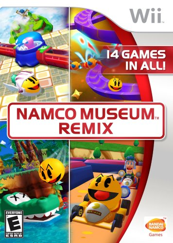 Namco Museum Remix - Nintendo Wii Collection Wii