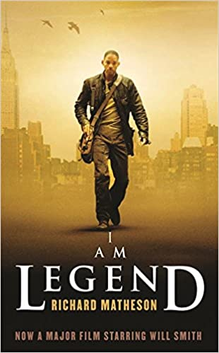Image result for i am legend matheson book cover