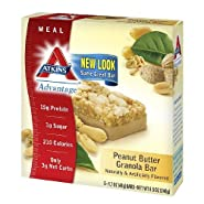 Atkins Bars Peanut Butter Granola Meal Bar (15)