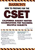 How to Prepare for the CSET, Robert D. Postman, 0764123513