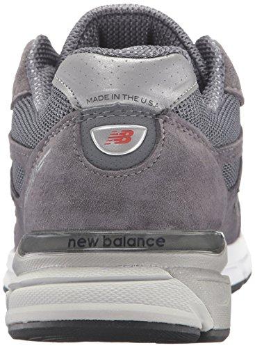 New Balance Herren 990V4–Die neue 990–4. Generation 2016–hergestellt in den USA., grau - dunkelgrau - Größe: 41