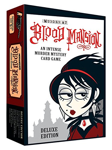 Deluxe Card Game (Murder at Blood Mansion Deluxe Card Game)
