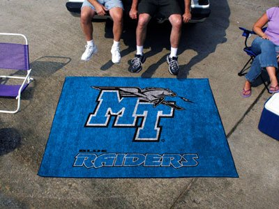 Tennessee State Tailgater Rug - Middle Tennessee State University Tailgater Rug