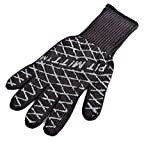 Charcoal Companion Ultimate Barbecue Pit Mitt Glove - For Grill or Oven - Measures 13' Long - CC5102.