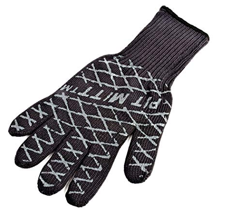 Charcoal Companion Ultimate Barbecue Pit Mitt Glove - For Grill or Oven - Measures 13