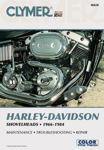 Clymer Harley-Davidson Shovelheads 1966-1984: Service, Repair, Maintenance by Ron Wright (1992-09-01) Harley Davidson Service Manual Online