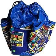 Sii Complete Bingo 10-Pocket Dauber Bag Vinyl Blue