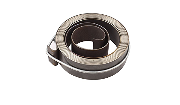 Uxcell a15060100ux0268 Gray 16mm Width Winding Hose Cable Reel Drum Spring