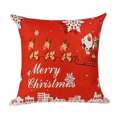 Mydufish Merry Christmas Decoration for Home Christmas Ornaments Christmas New Deer -