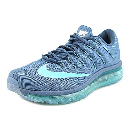 Nike Womens Air Max 2016 Scarpa Da Running Oceano Nebbia, Iper Turchese, Squadrone Blu