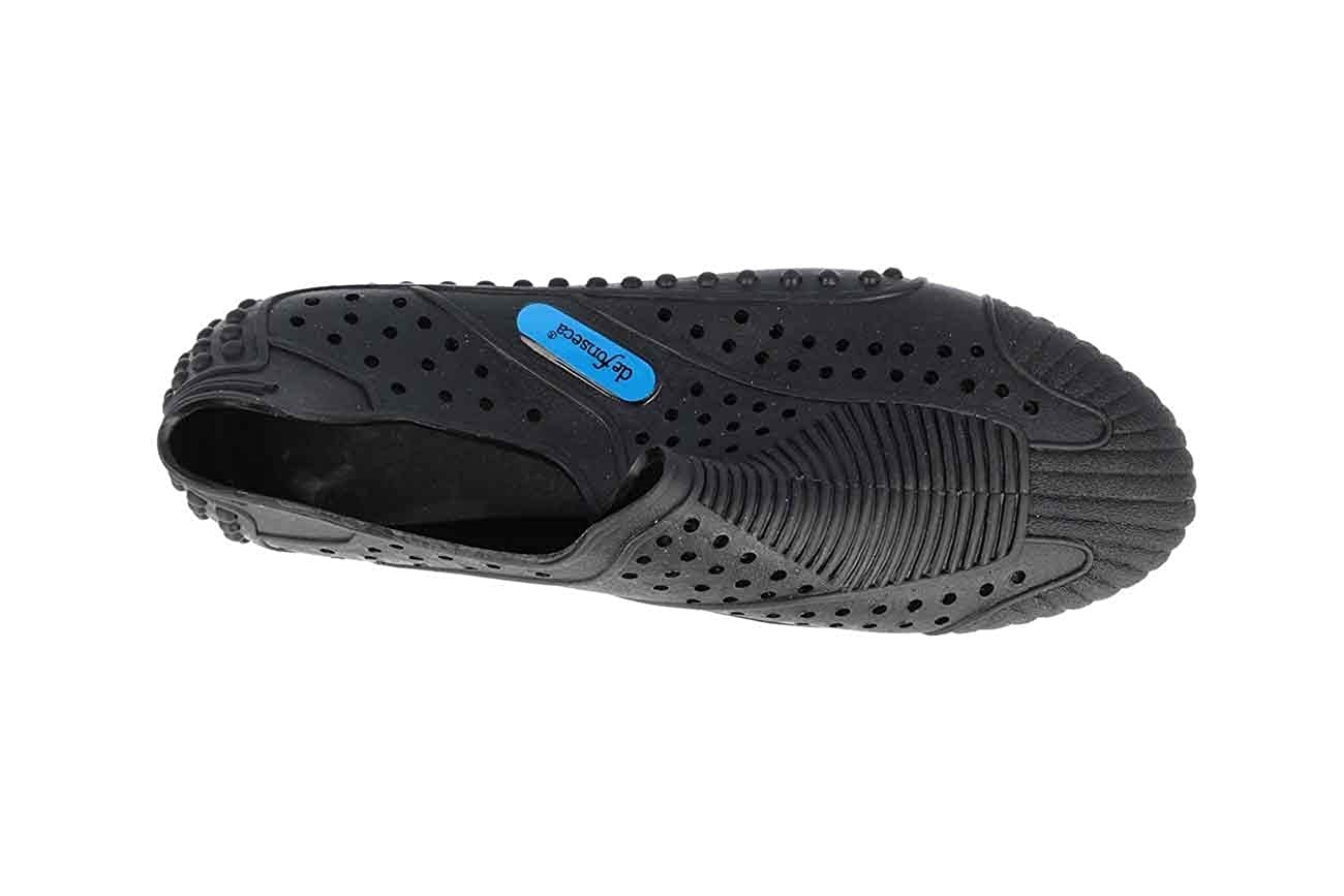 204cb8f0907 Amazon.com: DE Fonseca Man Slippers Rubber Shoes for sea and Swimming Pool  Nero: Shoes
