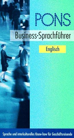 PONS Business-Sprachführer, Englisch