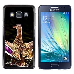 Stuss Case / Funda Carcasa protectora - Duck Pond Nature Spring Bird Water - Samsung Galaxy A3 SM-A300
