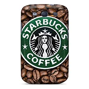 Samsung Galaxy S3 CXR9731Wyiw Unique Design Attractive Starbucks Pictures Protective Cell-phone Hard Covers -MarieFrancePitre