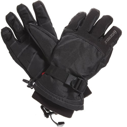 Manzella Men's Dakota Glove (Black, (Manzella Ski)
