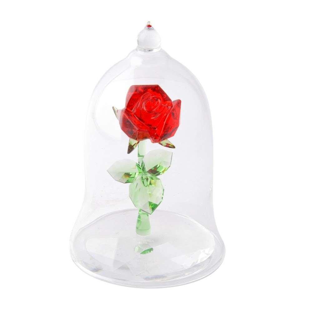 スワロフスキー SWAROVSKI 5230478 Disney Enchanted Rose ディズニー 美女と野獣 「魔法のバラ」 クリスタル フィギュア 置物 [並行輸入品] B0744RHKY3