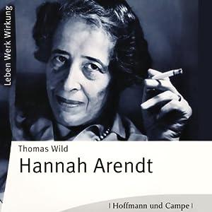 Hannah Arendt Hörbuch