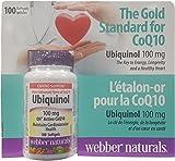 Webber Naturals Ubiquinol QH Active CoQ10, 100 mg, 100 softgels