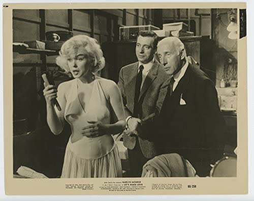 Let's Make Love (1960) 20th Century Fox studio Gelatin Silver Print 8x10  MARILYN MONROE YVES MONTAND WILFRID HYDE-WHITE at Amazon's Entertainment  Collectibles Store