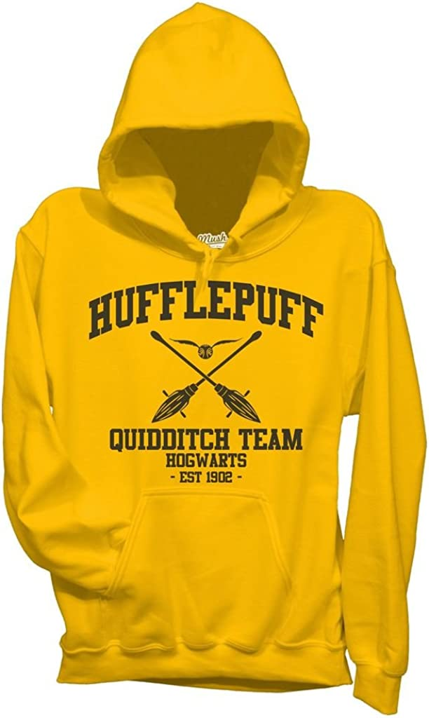 MUSH Felpa Hufflepuff Quidditch Harry Potter Film by Dress Your Style