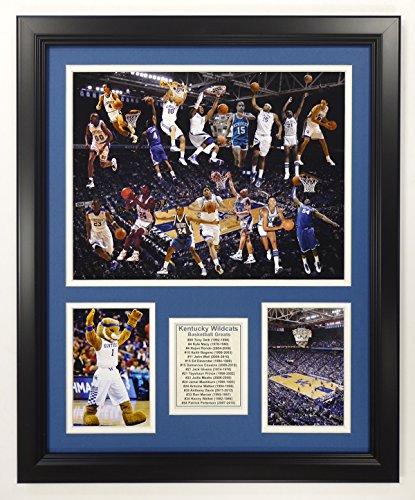 "Legends Never Die NCAA Kentucky Wildcats Basketball Greats Double Matted Photo Frame, 18"" x 22"""